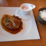 洋食バル マカロニ食堂 - ハンバーグ(ノ´∀`*)