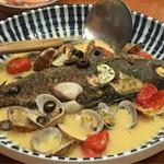 魚 枡 - いさきのアクアパッツァ