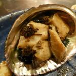 シャカ - アワビのバター焼き