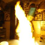 シャカ - 三四郎さんの炎の料理中
