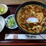 71462753 - 【2017/8】八丁味噌うどん・玉子入り