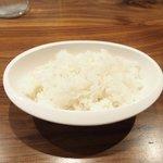 格之進 Nikutell  - 国産熟成肉ステーキプレート 1500円 のライス