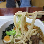 きよちゃんうどん - 吉田の堅い麺。