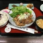 竹之里 - (料理)若鶏の油淋鶏