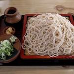 そば処 葵 - 料理写真:もりそば(550円)
