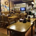 中華料理 喜楽 - 1階:7卓25席ほど