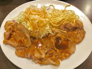 洋食 ツバキ亭 - 豚のしょうが焼き