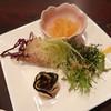 中華楼 - 料理写真:ラディッキオ、蒸し鶏の黒大根、フリアリエッリ、とうもろこしのヒゲ