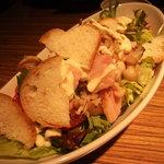 ブリーズィーカフェ - 森のキノコのHOTサラダ