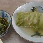 弁慶 - 豚バラキャベツとタレ
