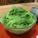 茶房 まちなか庵 - 料理写真:抹茶雪花氷[¥700]