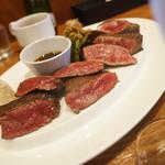 裏参道牛肉店 - 料理写真:ビフテキ定食