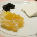 円山炭馳走鉄八 - はちみつの巣とリコッタチーズ