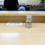 そば処 大橋や - 缶ビール310円