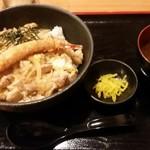 マタネ食堂 - 親子丼+エビフライ