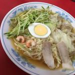 呉龍 - 冷麺 (ワンタン入)のアップ〜(*^▽^*)❤️