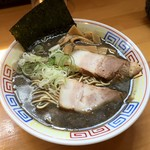 自家製麺 佐藤 - 煮干豚骨醤油