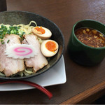 麺や 仁 - 辛つけ麺 820円