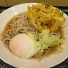 源太郎そば - 料理写真:朝の天玉そば(冷)