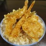 はちまき - 天丼(大盛り)アップ