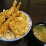 はちまき - 天丼(大盛り)