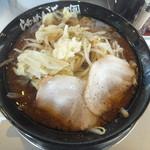 らあめん花月 - 料理写真:期間限定、ブラックモンスターネクストジェネレーション760円(2017.7.18)