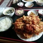 中華料理 順和園 - 鶏の唐揚げ定食850円