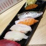 小松水産 - 上生握り寿司6貫 864円