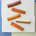 京の麩菓子屋 ゆふころろ - ころろの香 山椒の香/竹糖の香(和三盆)/餡の香/抹茶の香/生姜の香