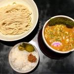 麺の坊 晴天 - 甘海老出汁の味噌チーズつけめん
