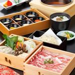 黒豚料理 寿庵 - 料理写真:塩しゃぶしゃぶ