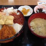 樺太食堂 - 料理写真:樺太丼