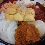 樺太食堂 - 樺太丼、すごいボリュームよ!