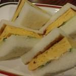 コンパル - コーチン玉子サンド 630円