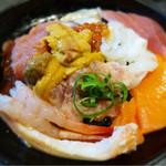 若狭家 - オールスター丼 ¥1,750