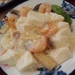 7149055 - 豆腐と海老煮込み