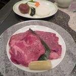 バーベキューレストラン サジャ - 料理写真:野菜、牛