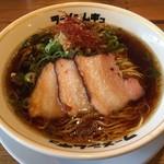 ラーメンムギュ - 料理写真:ONIBARAくろ(750円)