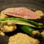 アルドアック - イチボのステーキ