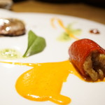 アルドアック - 料理写真:スペシャリテ・ピキージョの詰め物