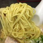 らーめん山頭火 - 塩ラーメン麺