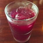 甘酒茶屋 - しそジュース400円