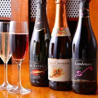 ワインのこだわり!品ぞろえ豊富にご用意しております。