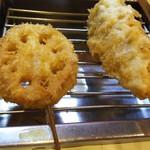 名代 串揚げ 松葉 - レンコン、肉