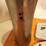 名代串揚げ松葉 コース制串かつ - ウーロン茶