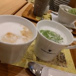nana's green tea - カフェラテ 390円