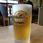 蘭蘭 - 生ビール〜(*^▽^*)  季節限定…