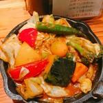 野菜を食べるカレーcamp - 一日分の野菜カレー♪