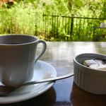 オルガノ - コーヒーとミニレアチーズケーキ