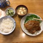 むらこし食堂 - 焼肉定食